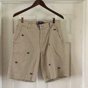 "CHAPS men's shorts 30""w"